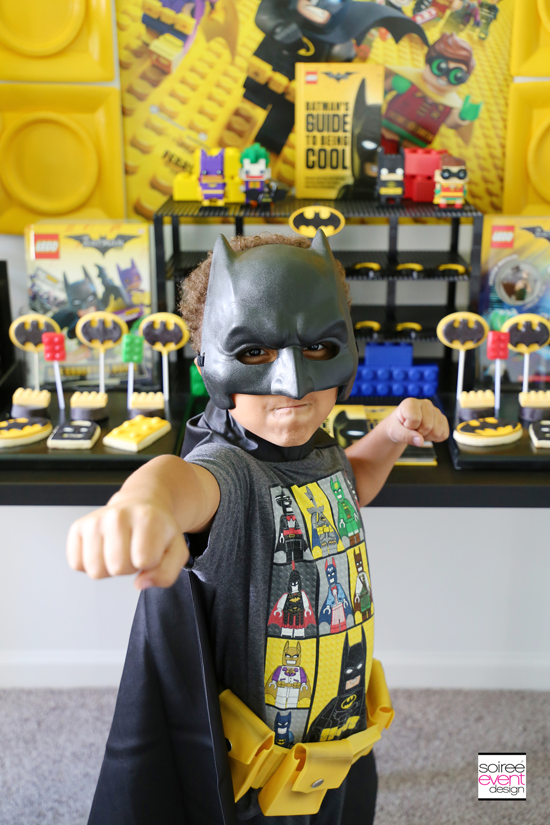 Lego Batman Party Photo Booth - 5