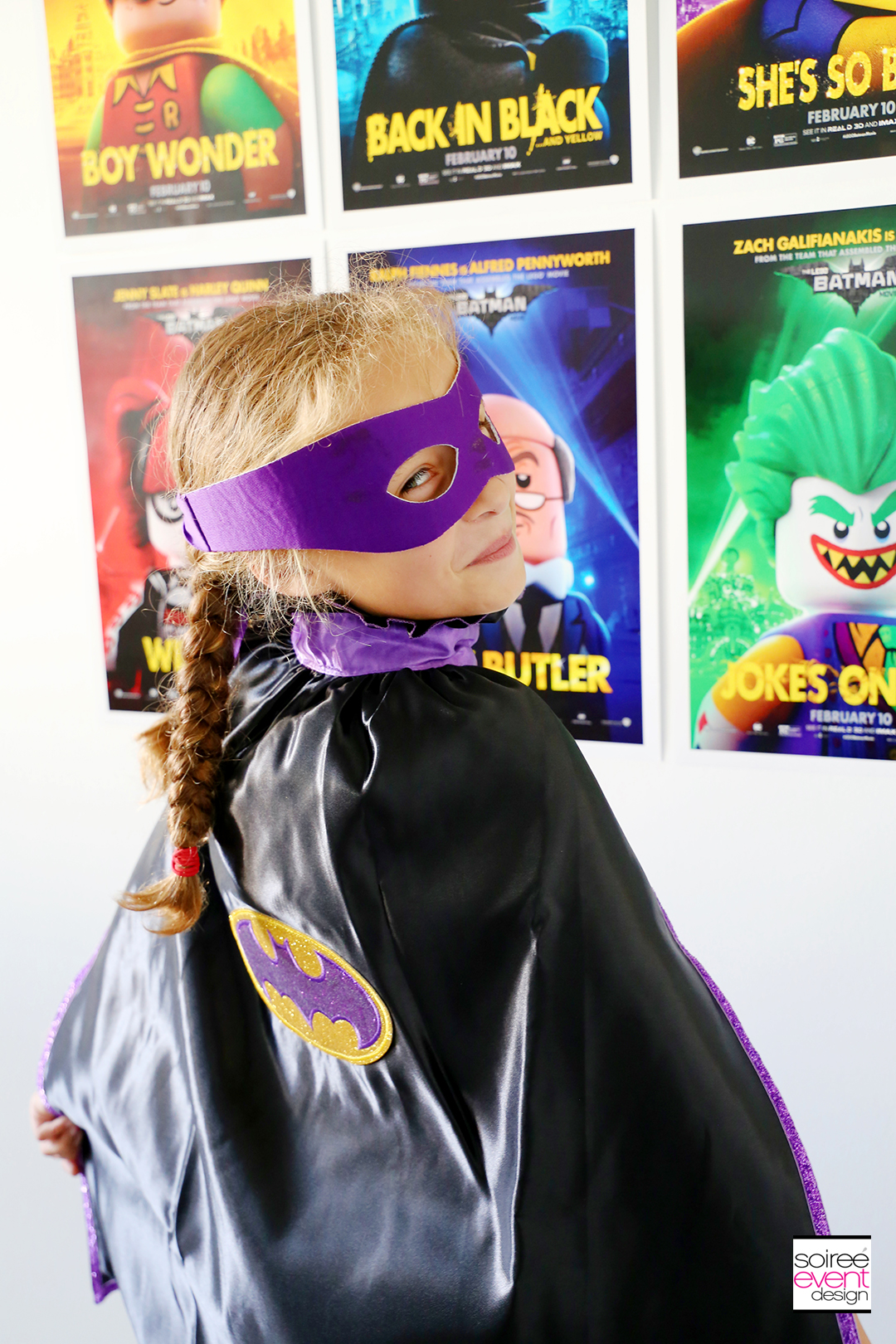 Lego Batman Party Photo Booth - 9