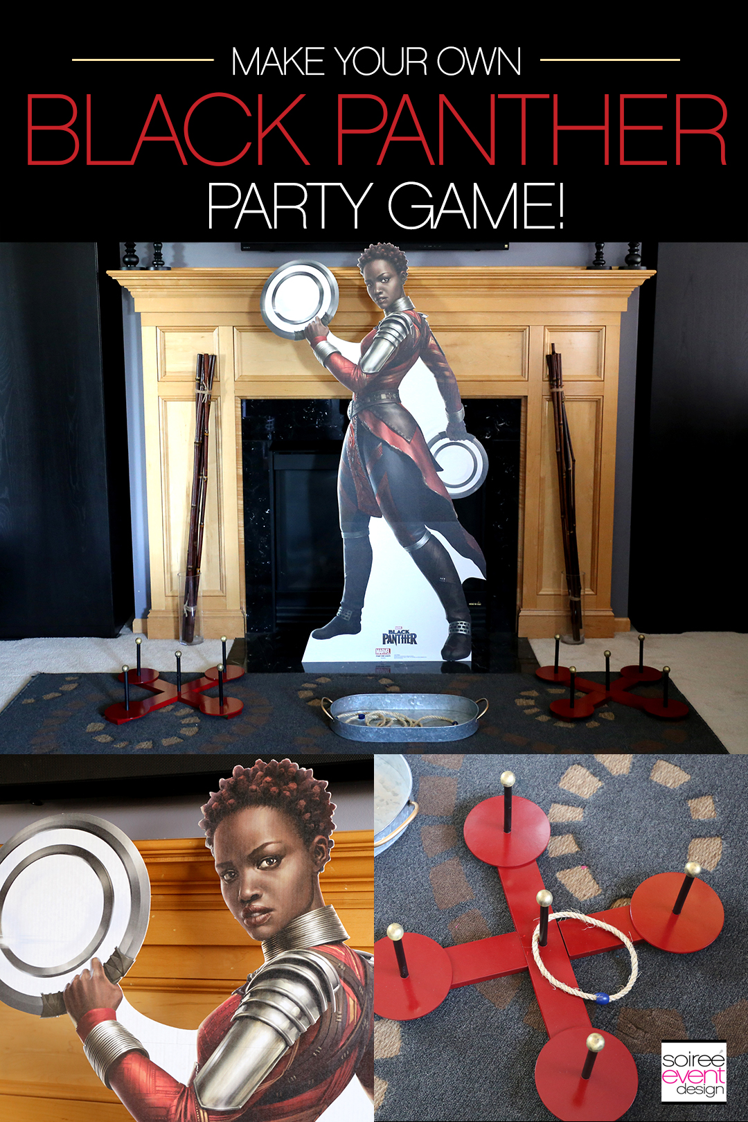 MARVEL Black Panther Party Games