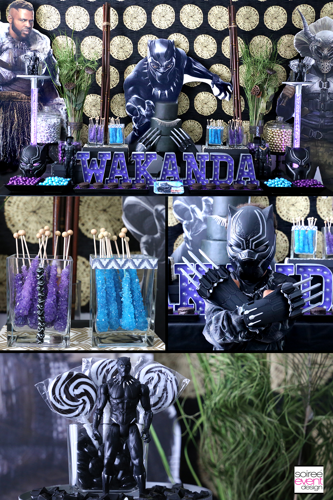 Marvel Black Panther Party Ideas Soiree Event Design