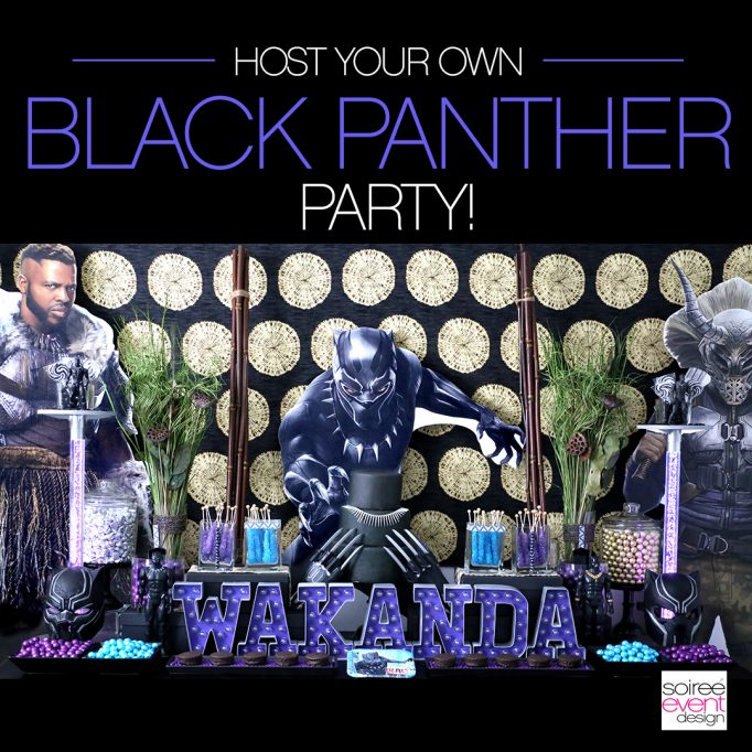 MARVEL Black Panther Party Ideas