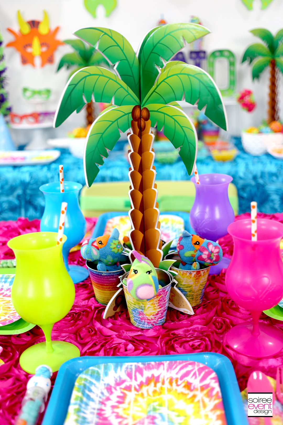 Girly Dinosaur Party Ideas - Dinosaur Party Decorations