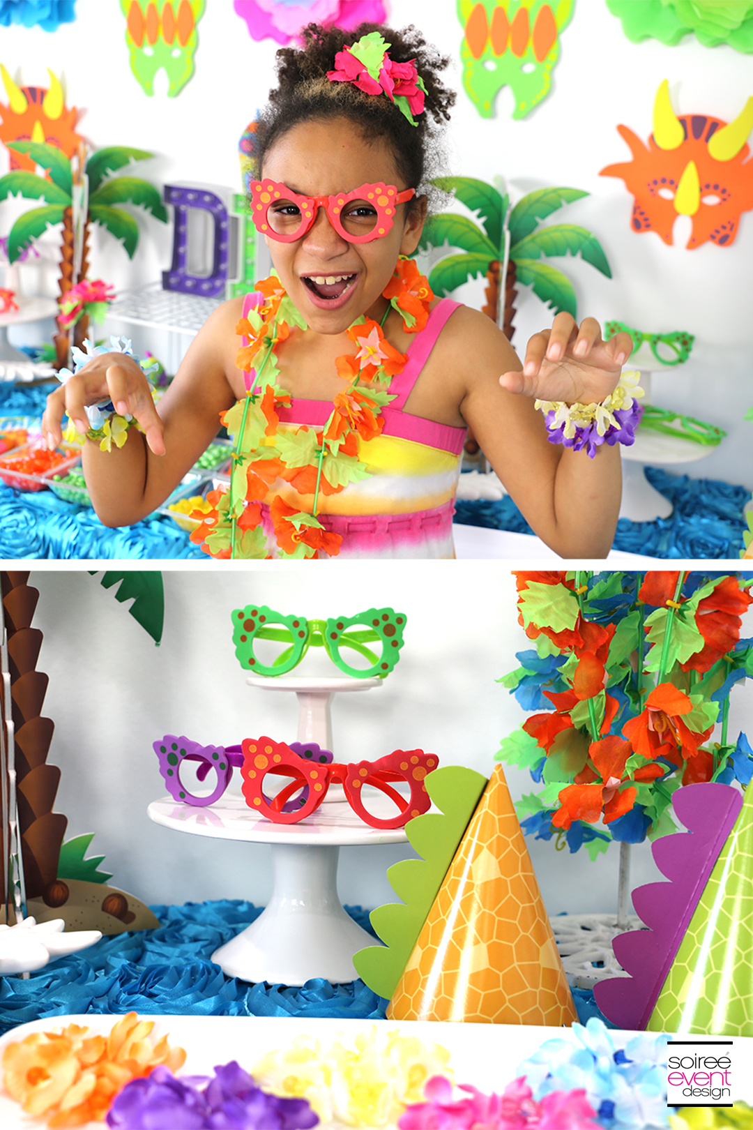 Girly Dinosaur Party Ideas - Dinosaur Party Favors for Girls