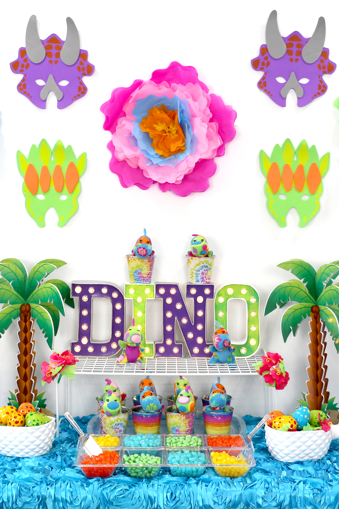 Girly Dinosaur Party for Girls