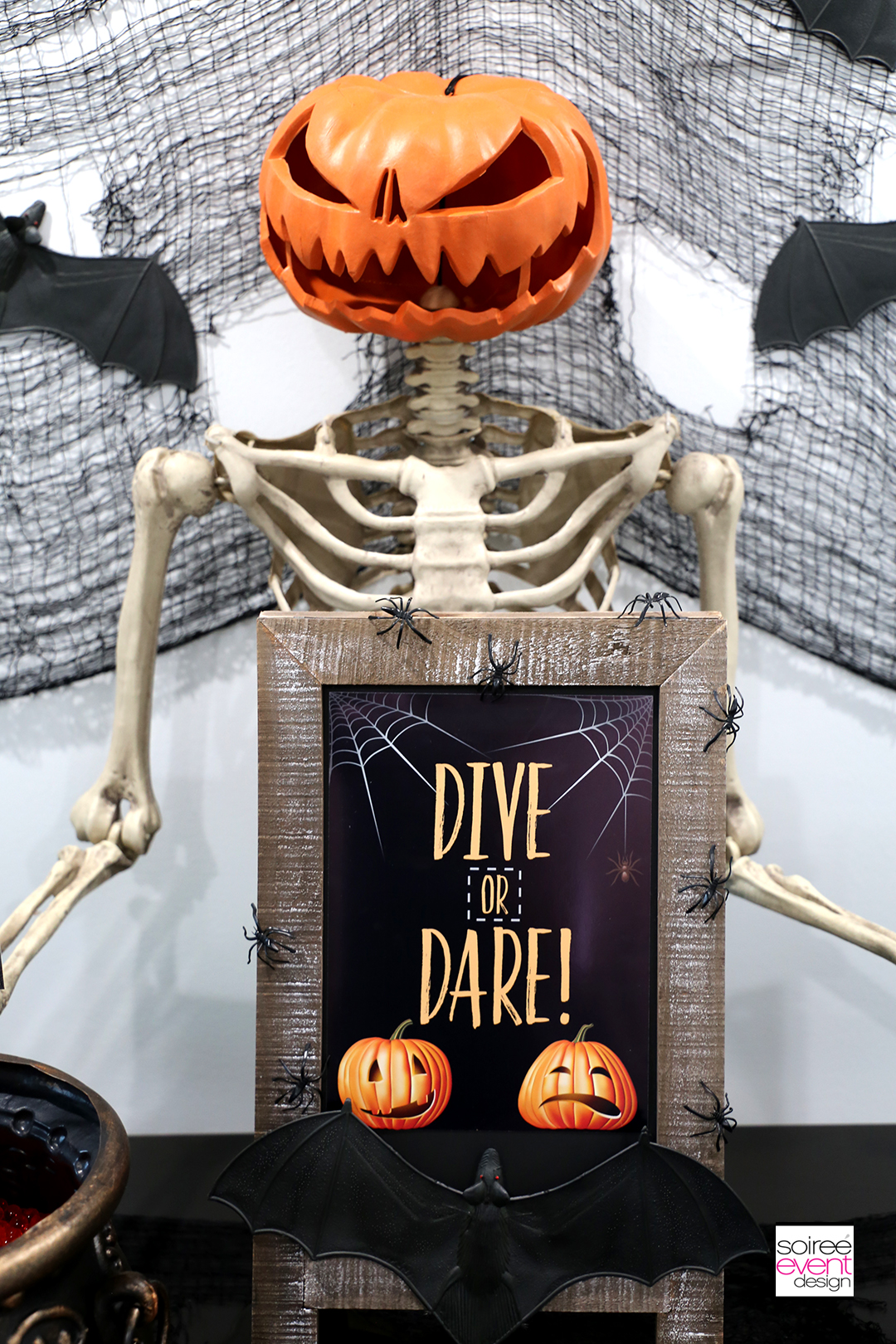 Halloween Party Games Dive or Dare - 1