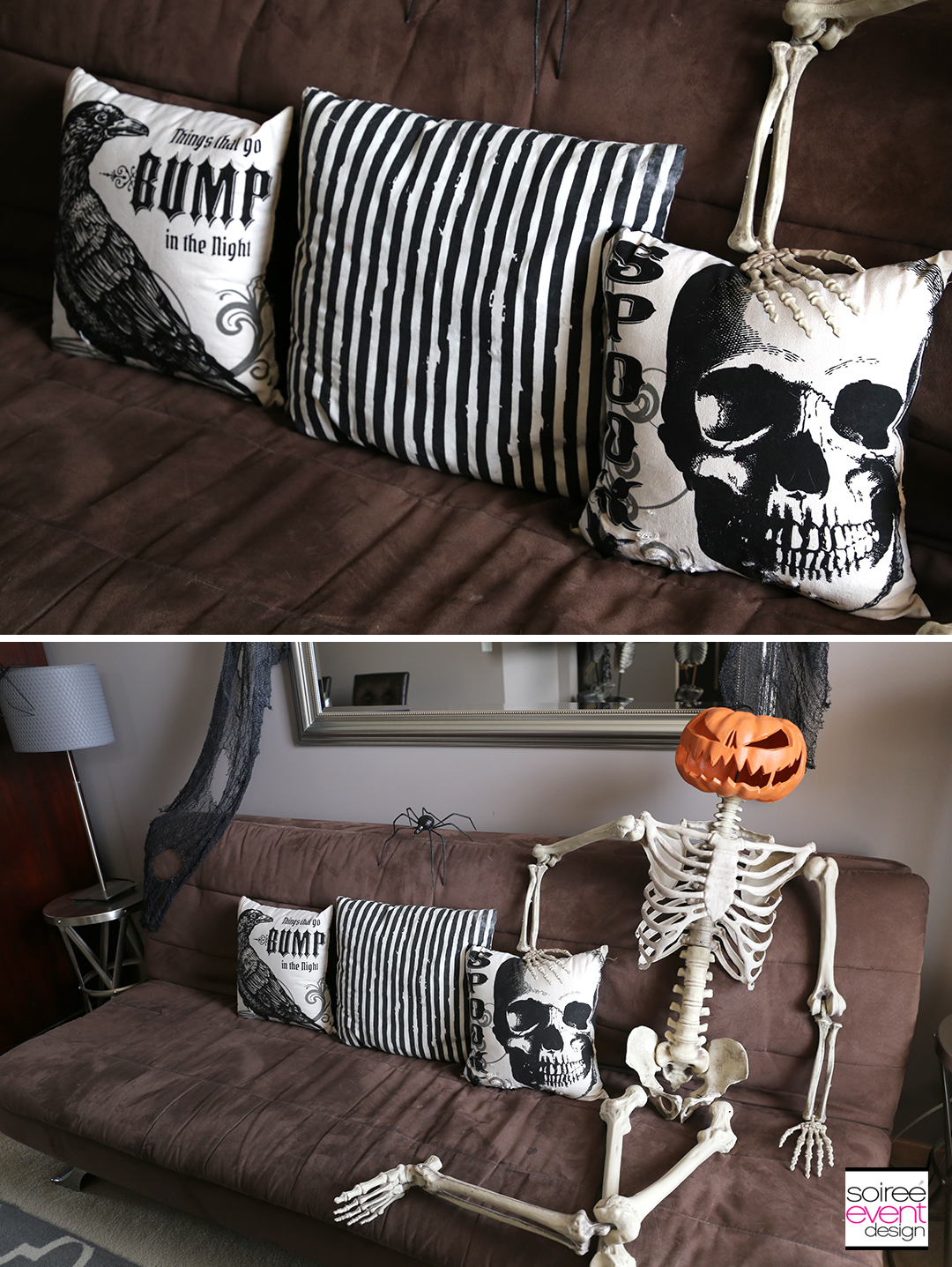 Vintage Halloween Decorating Ideas - Halloween Living Room