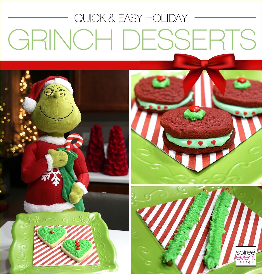Grinch Dessert Ideas - Soiree Event Design