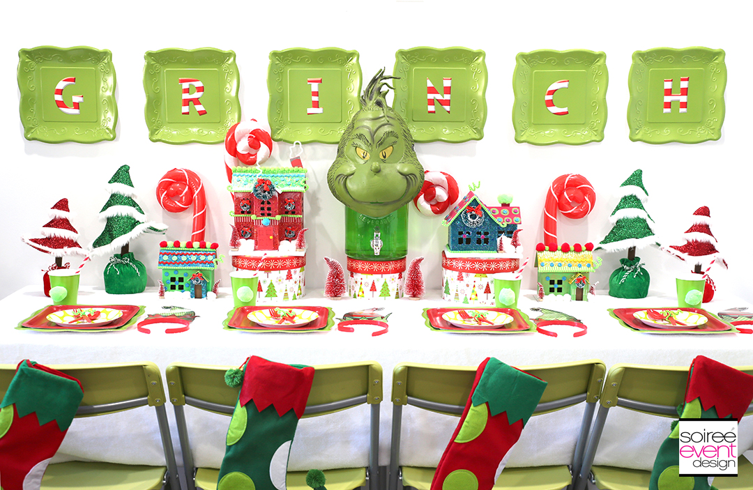 Grinch Party Ideas - Grinch Decorations