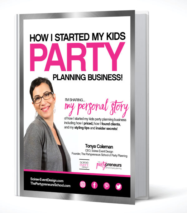 How to start a kids party planning business