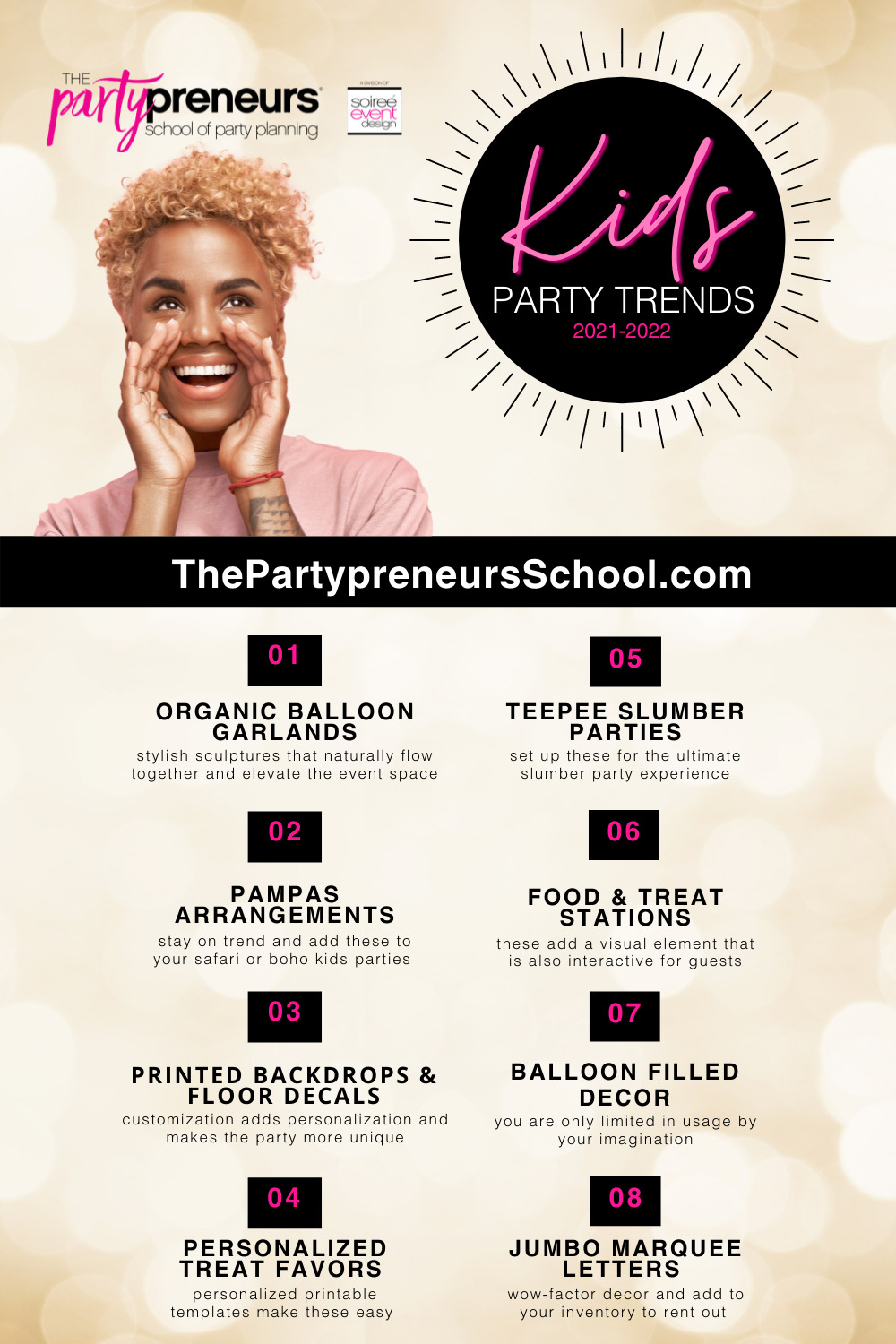 8 Kids Party Trends that will WOW your next client