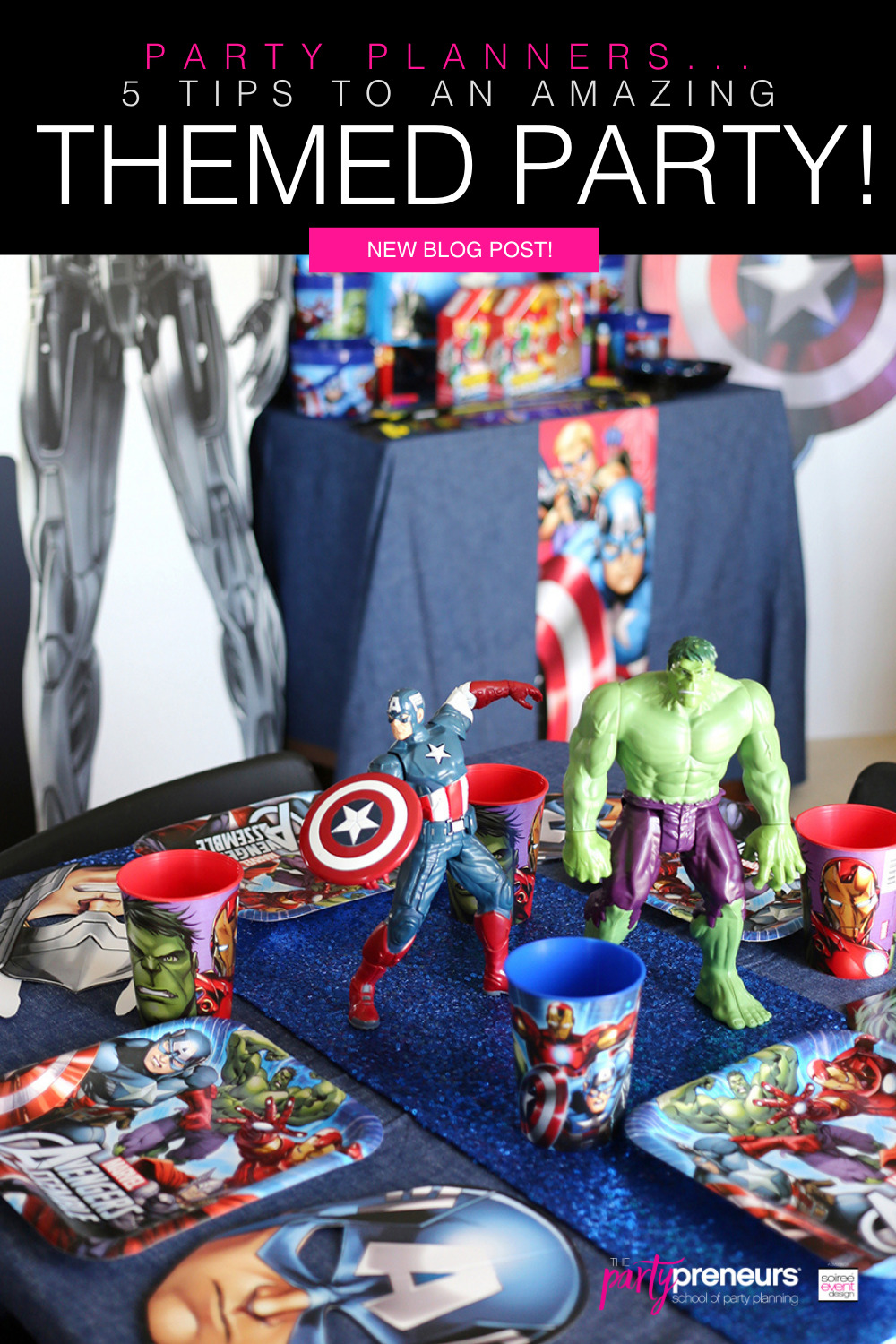 5 Tips to an Amazing Themed Party!