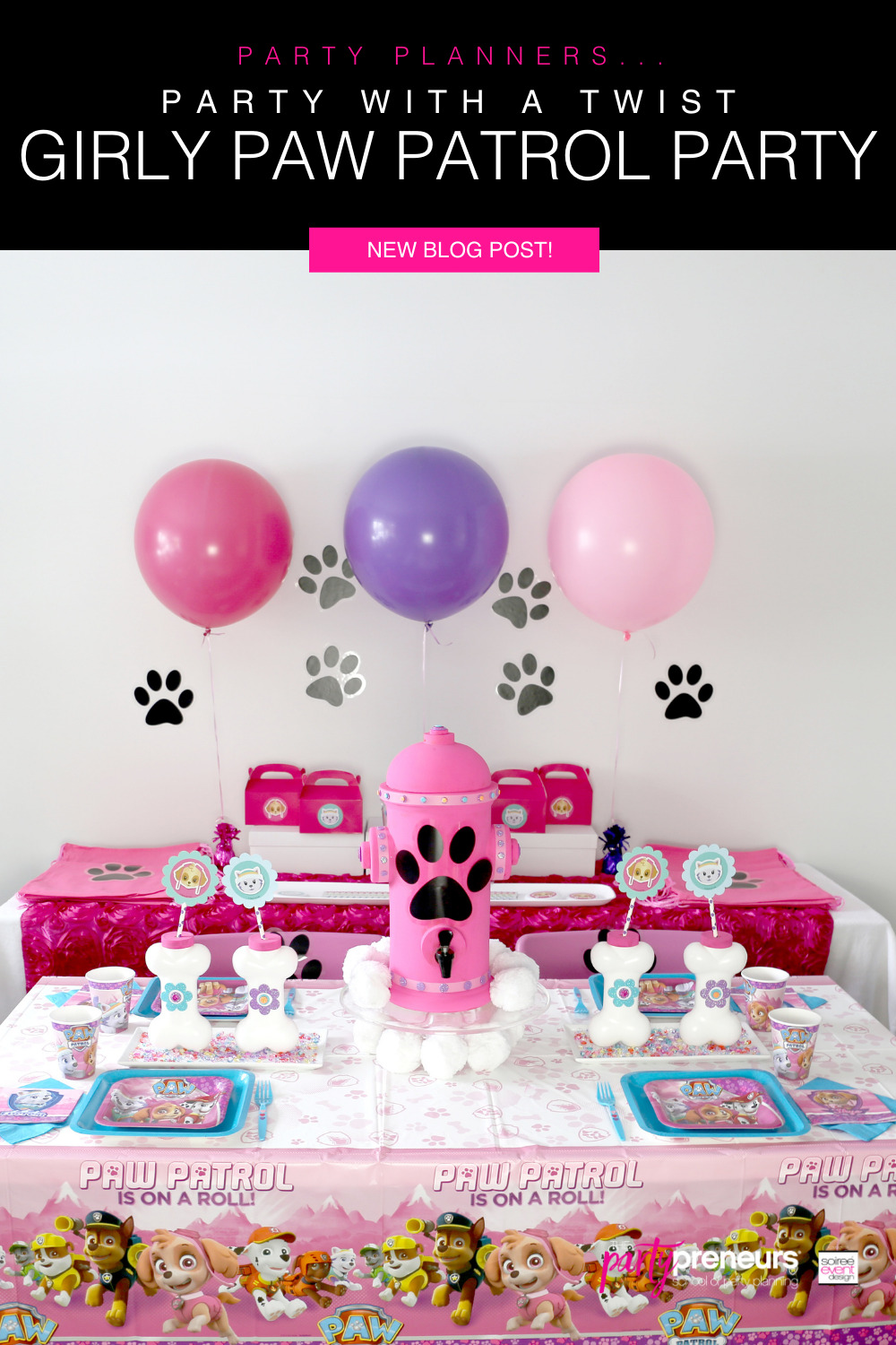 5 Ways to Have a Fun Girly Paw Patrol Party